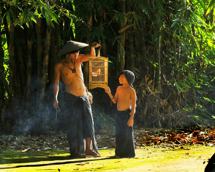 Photograph Father and Son by iwan kristiana on 500px