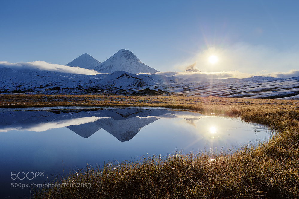 Photograph Sunrise at the Volcanoes by xflo : w on 500px