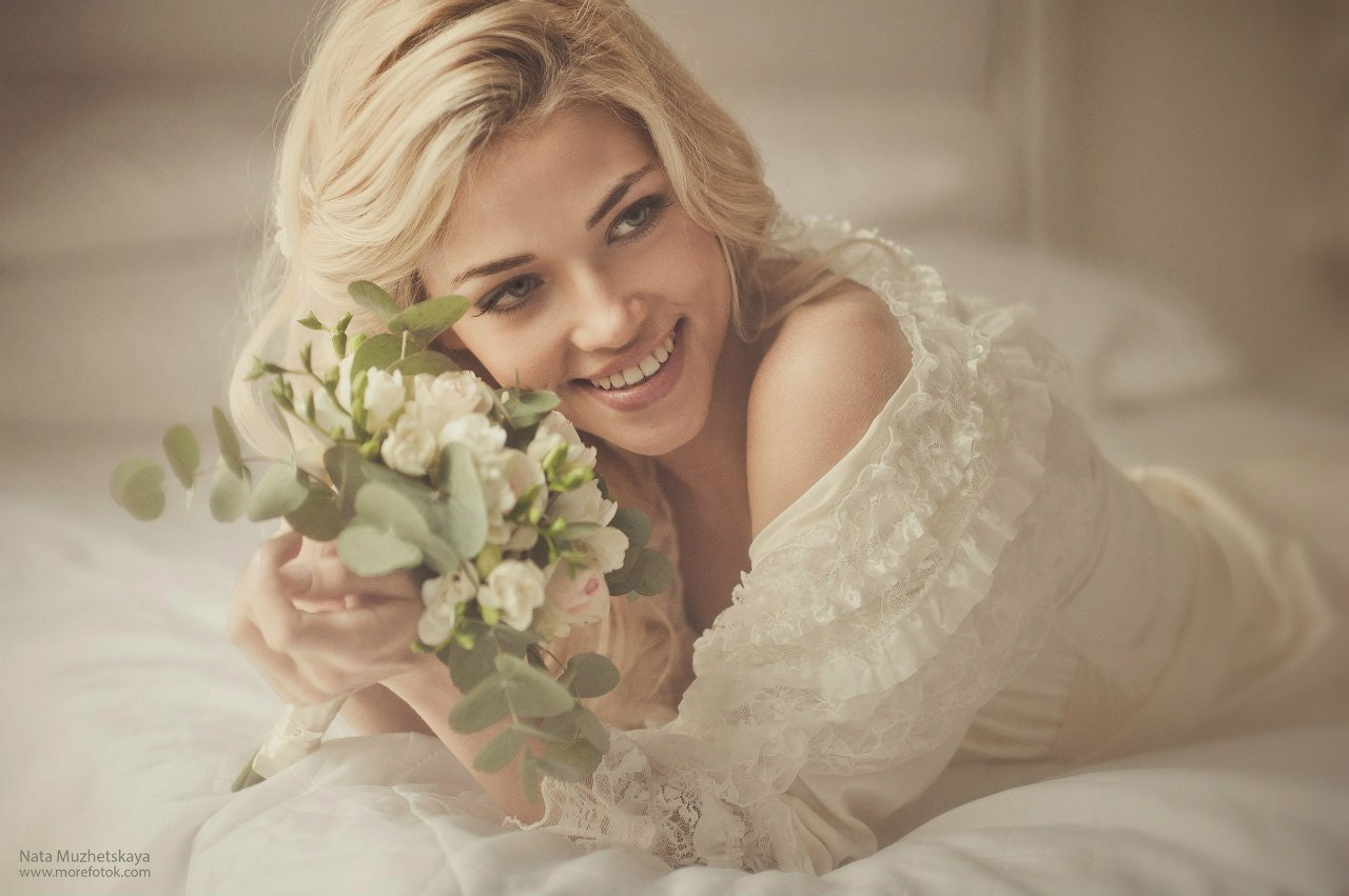 Photograph Happy Bride by Natalia Muzhetskaya on 500px