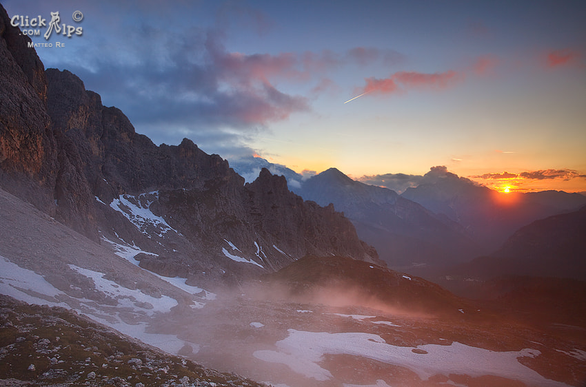 Photograph Sunset view by Matteo Re on 500px