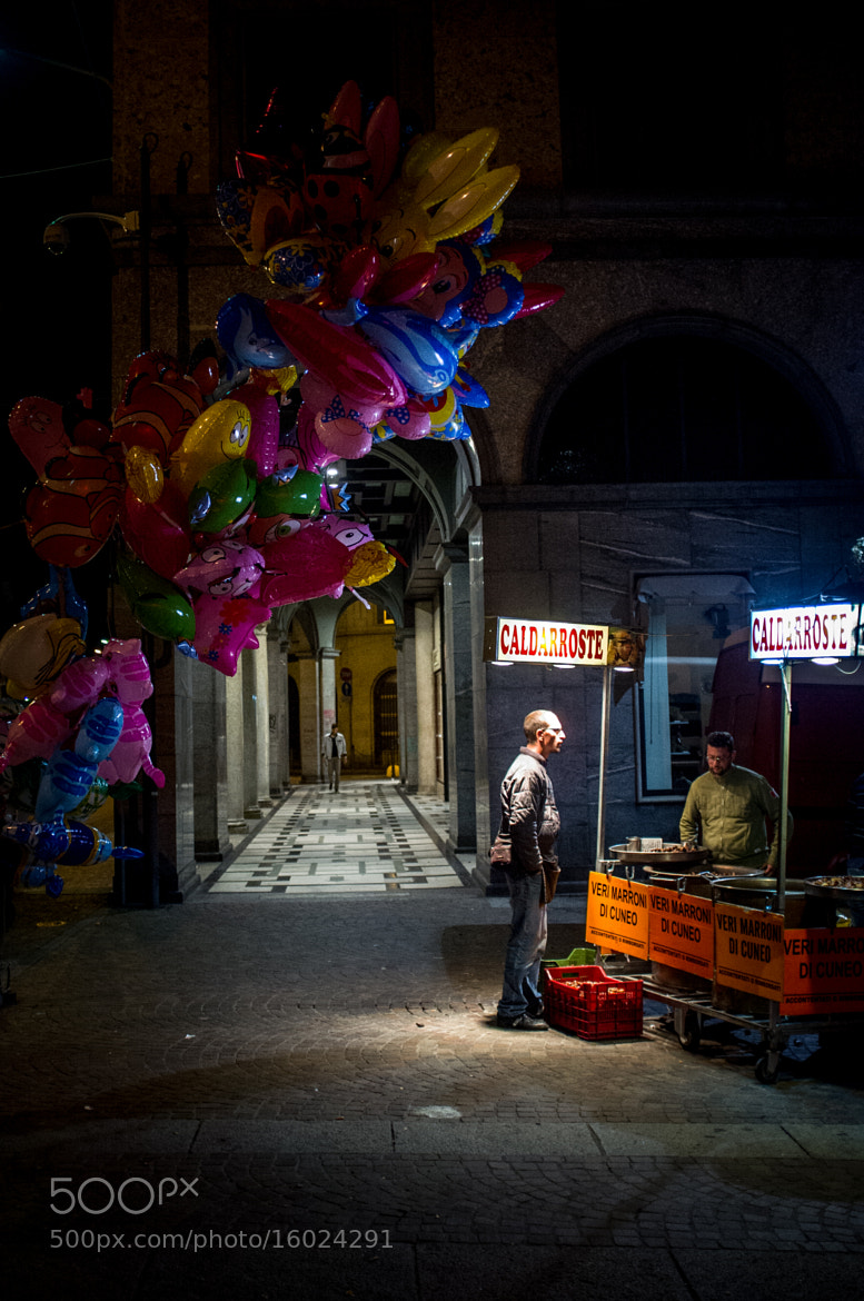 Photograph The flying colours of the night by Emanuele  Toscano on 500px