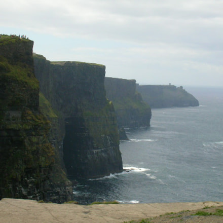 Ireland - Cliffs of, Nikon COOLPIX S3