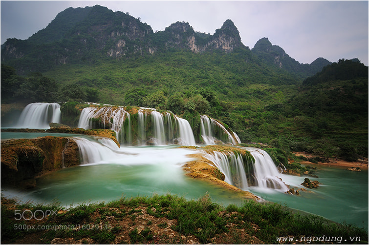 Photograph Ban Goc water fall  03  - Viet Nam by Ngo Dung on 500px