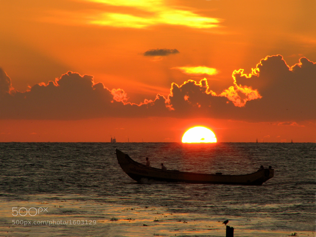 Photograph Melting Sun by Sangeeth VS on 500px