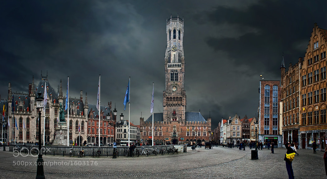 Photograph the market place by piet flour on 500px