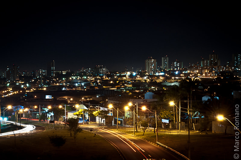 Photograph Piracicaba noturna by Marco Romano on 500px