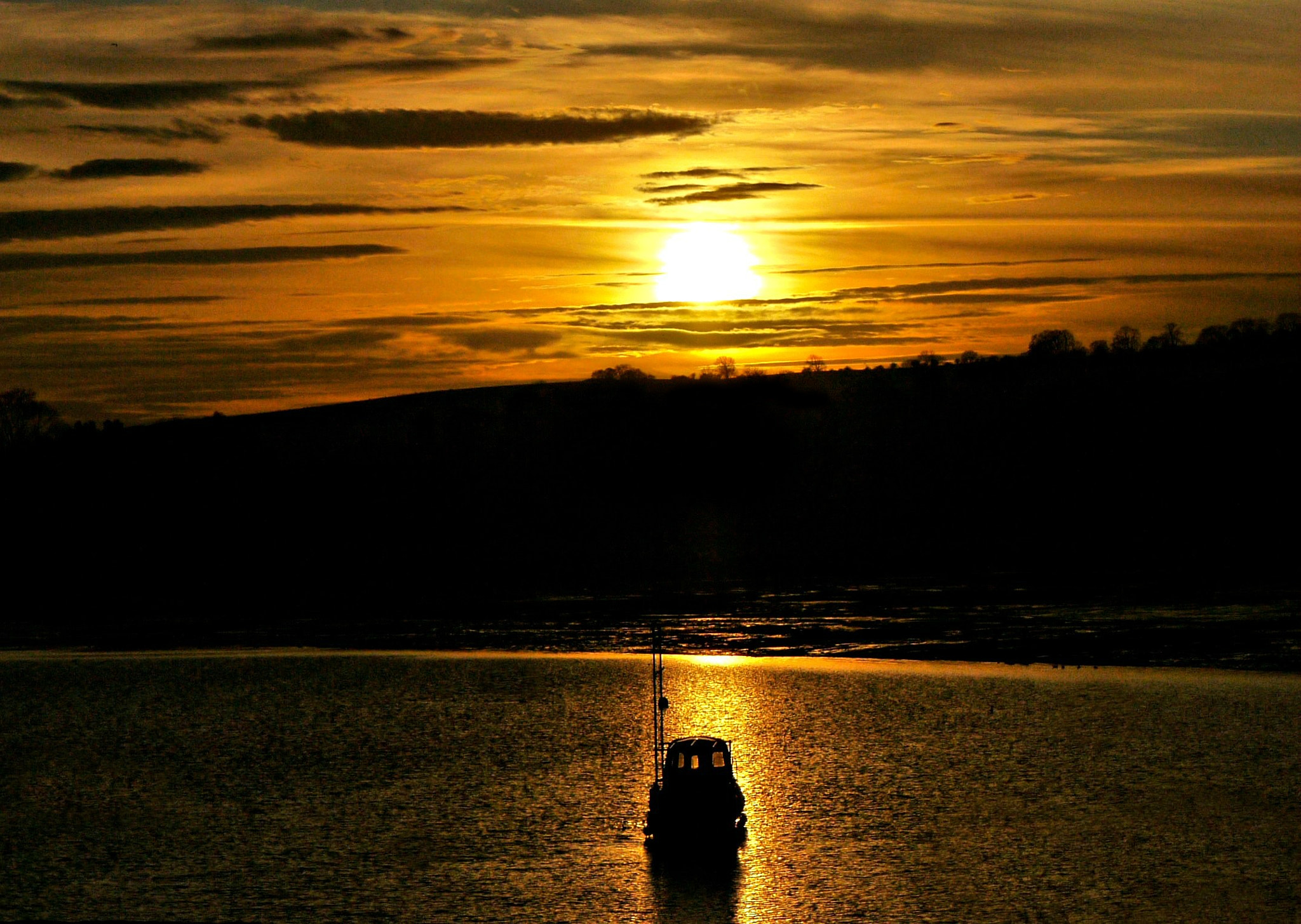 Photograph Sunset at Carsington Waters by Kate Thomas on 500px
