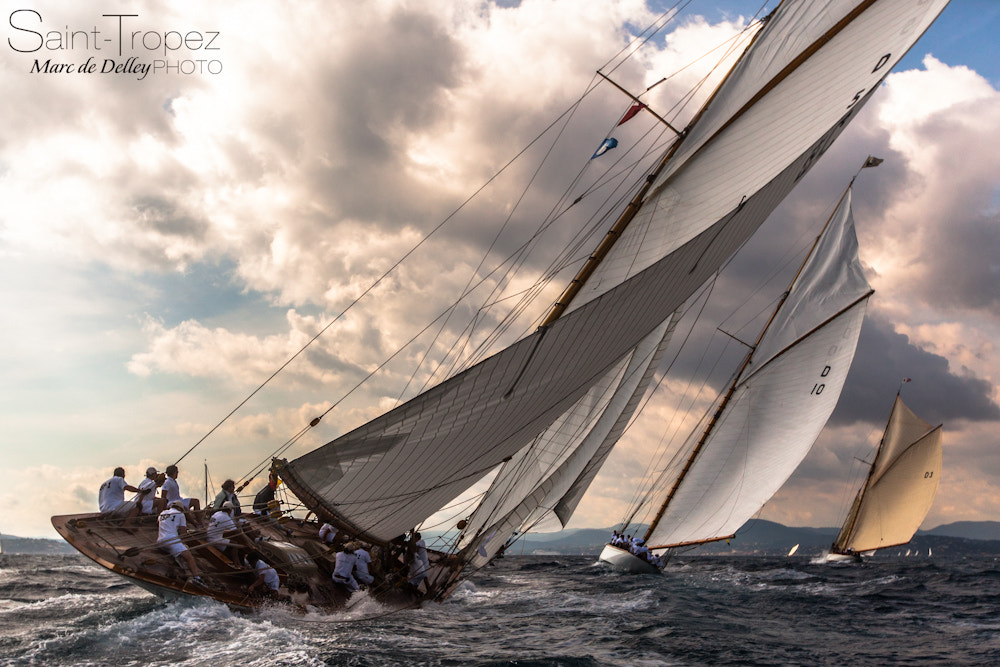 Photograph Les Voiles de Saint-Tropez 2012 by Marc de Delley on 500px