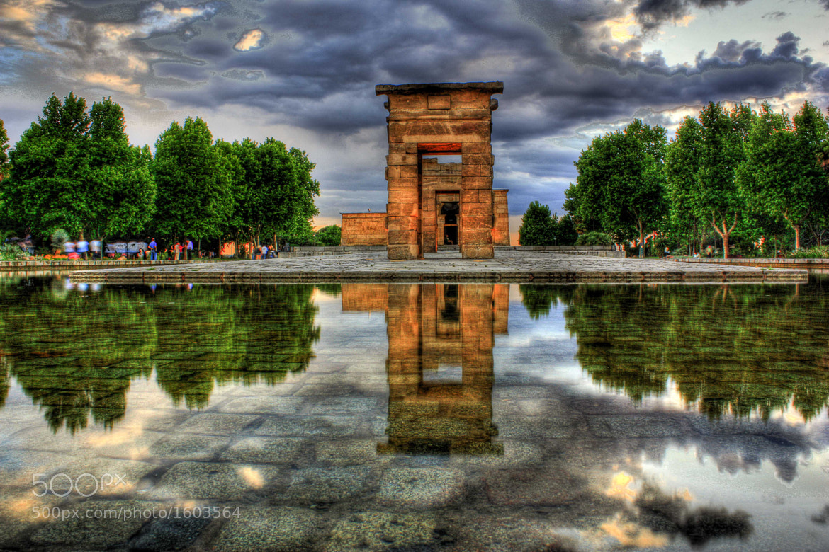 Photograph Debod´s Temple by Gonzalo Magot on 500px
