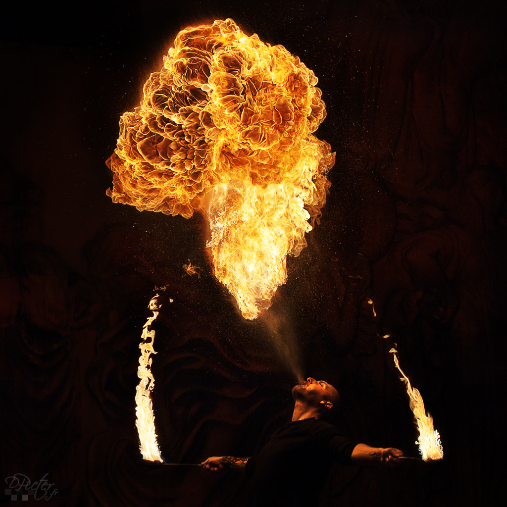 Photograph Fire Eater by Philippe Lejeanvre on 500px