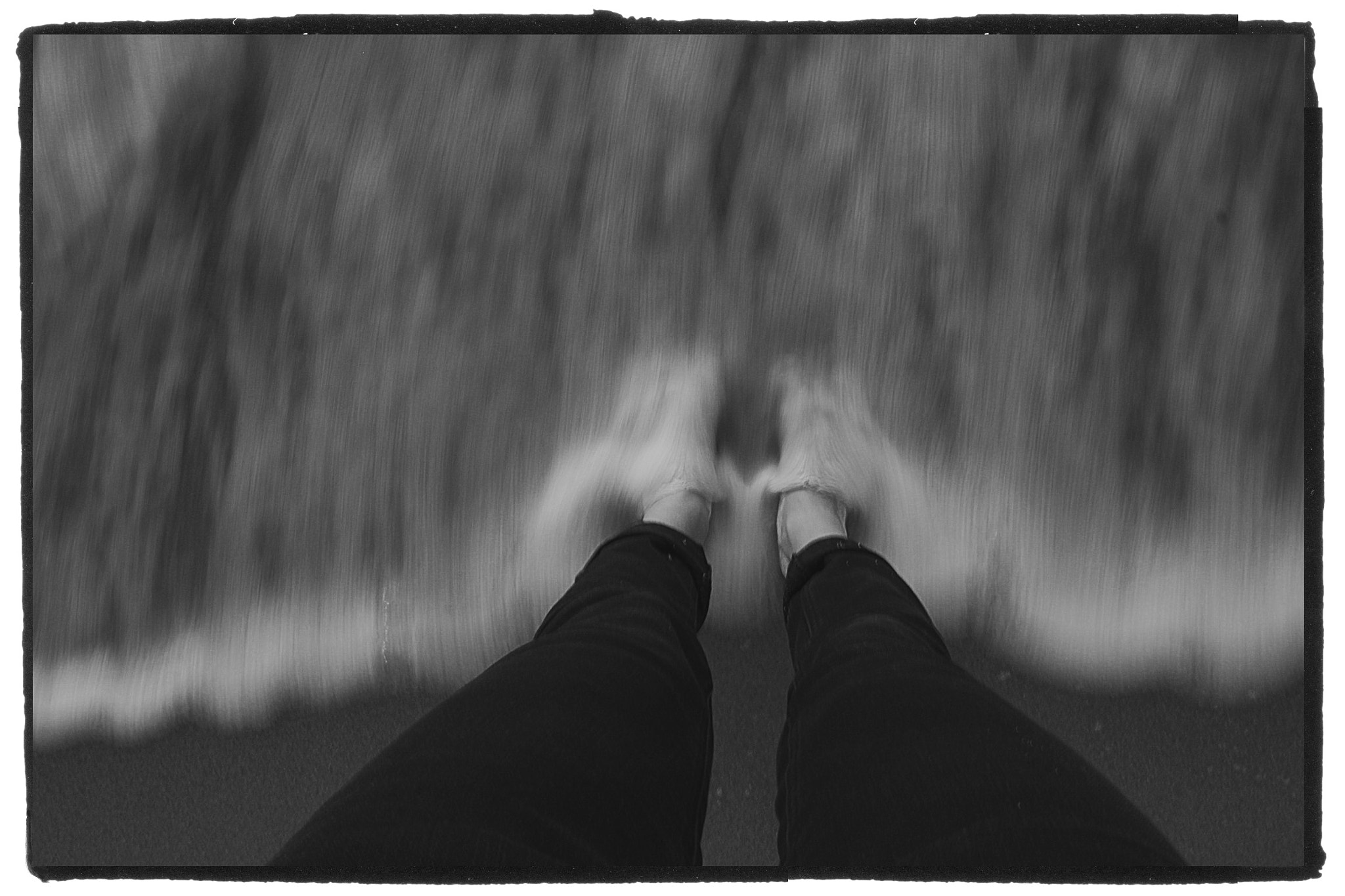 Photograph Feet in the Ocean by Charlotte Raynaud on 500px