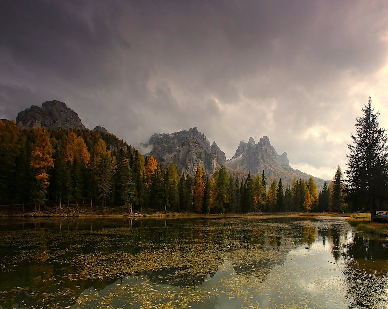 Photograph light in Antorno Lake  by lorenzo savinelli on 500px