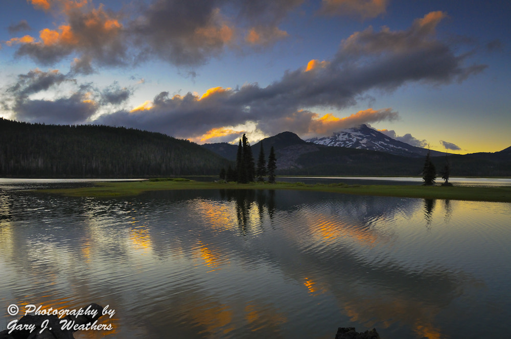 Photograph Sparks Lake Sunset by Gary Weathers on 500px