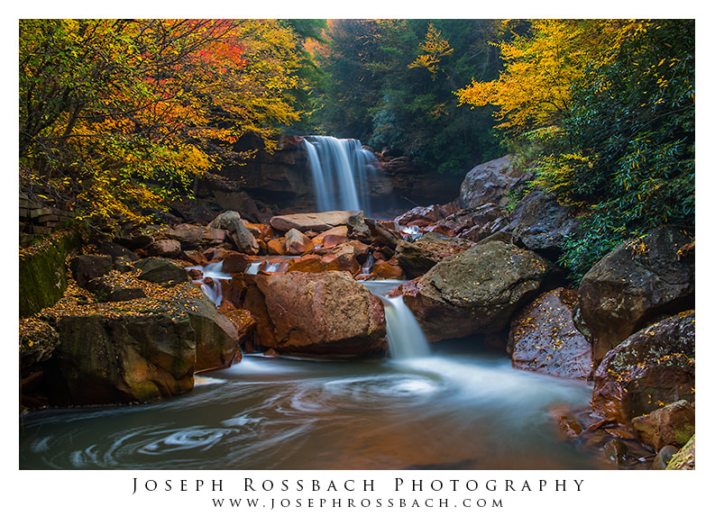 Photograph Autumn at Douglas Falls by Joseph Rossbach on 500px