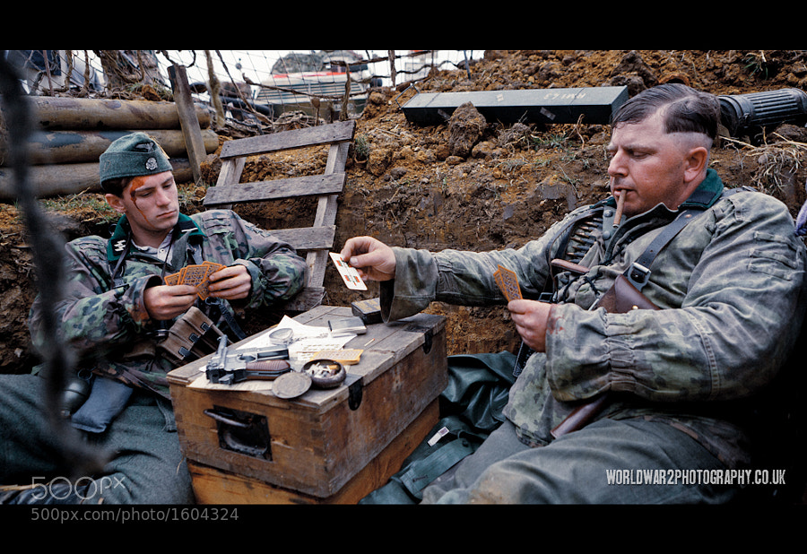Images taken whilst working with the group Kampfgruppe Stahlkrieger during the 2011 War & Peace show.