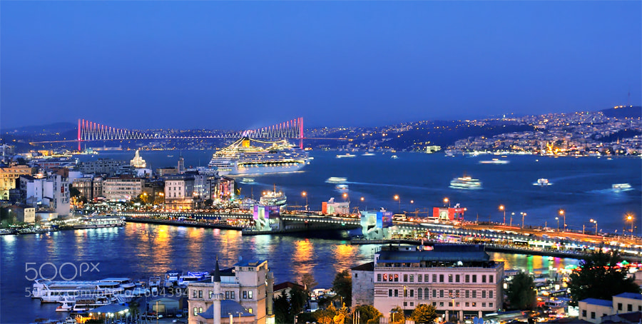Photograph Bosphorus by Timucin Toprak on 500px