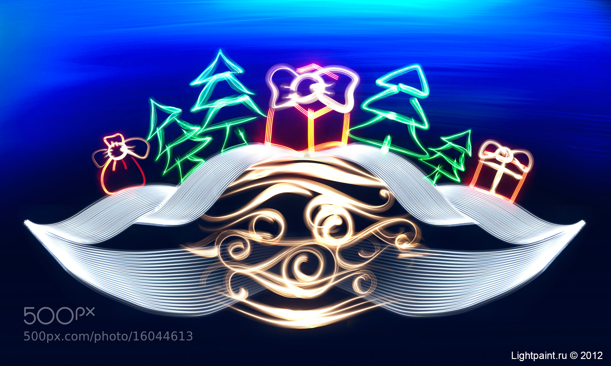 Photograph Happy New Year 2013 :) by Lightpaint.ru Moscow, Russia on 500px