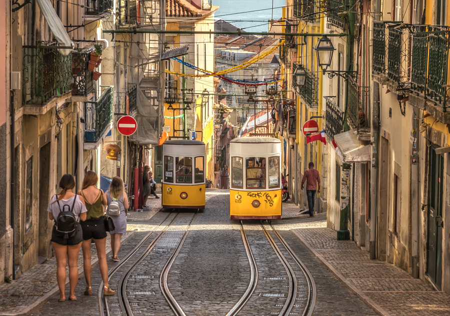 Lisbon Tram by Nick_Moulds on 500px.com