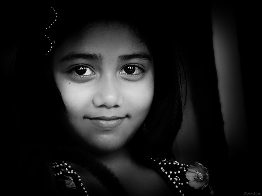 Photograph The Smile by Amlan Sanyal on 500px