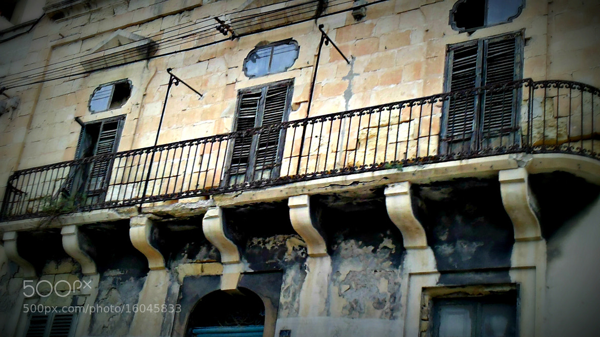 Photograph Old House In Msida Malta by David Piscopo on 500px