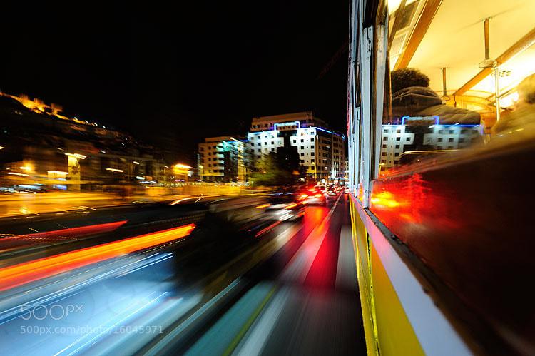 Photograph Lisbon tram by Mirko Sotgiu on 500px