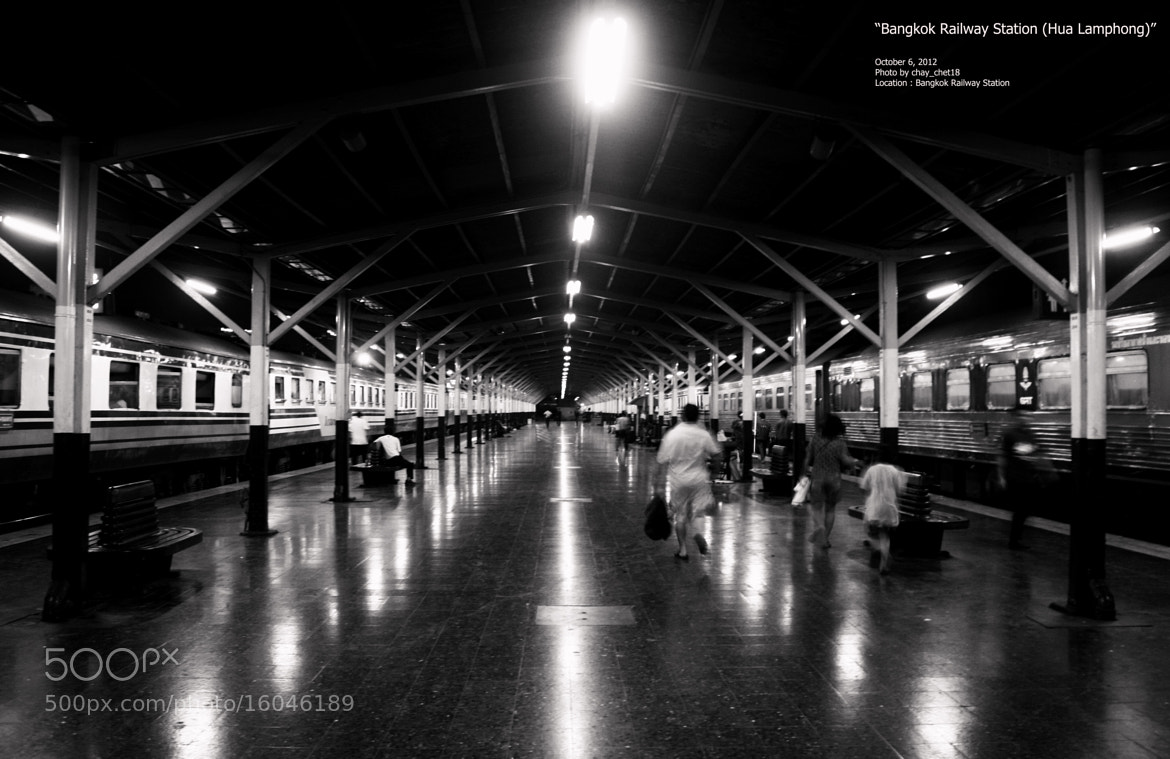 Photograph Bangkok Railway Station by chay_chet18 (R.Pichet)  on 500px