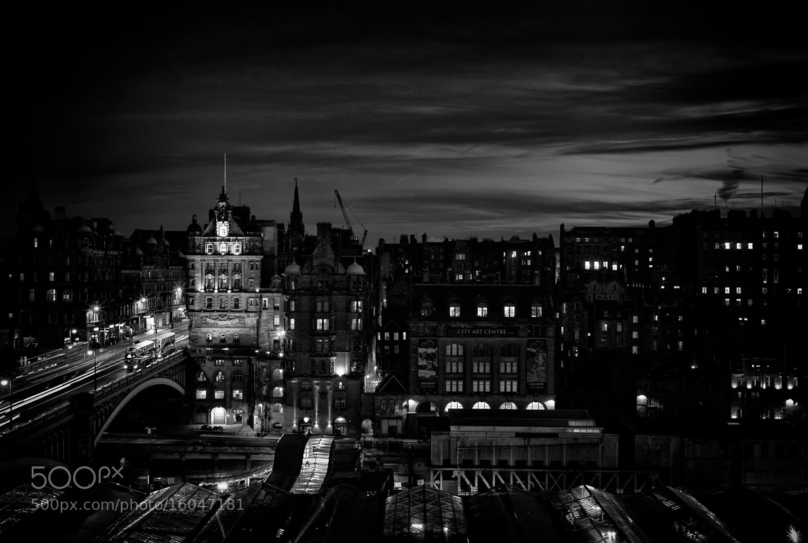 Photograph Edinburgh by night by frederic vasquez on 500px