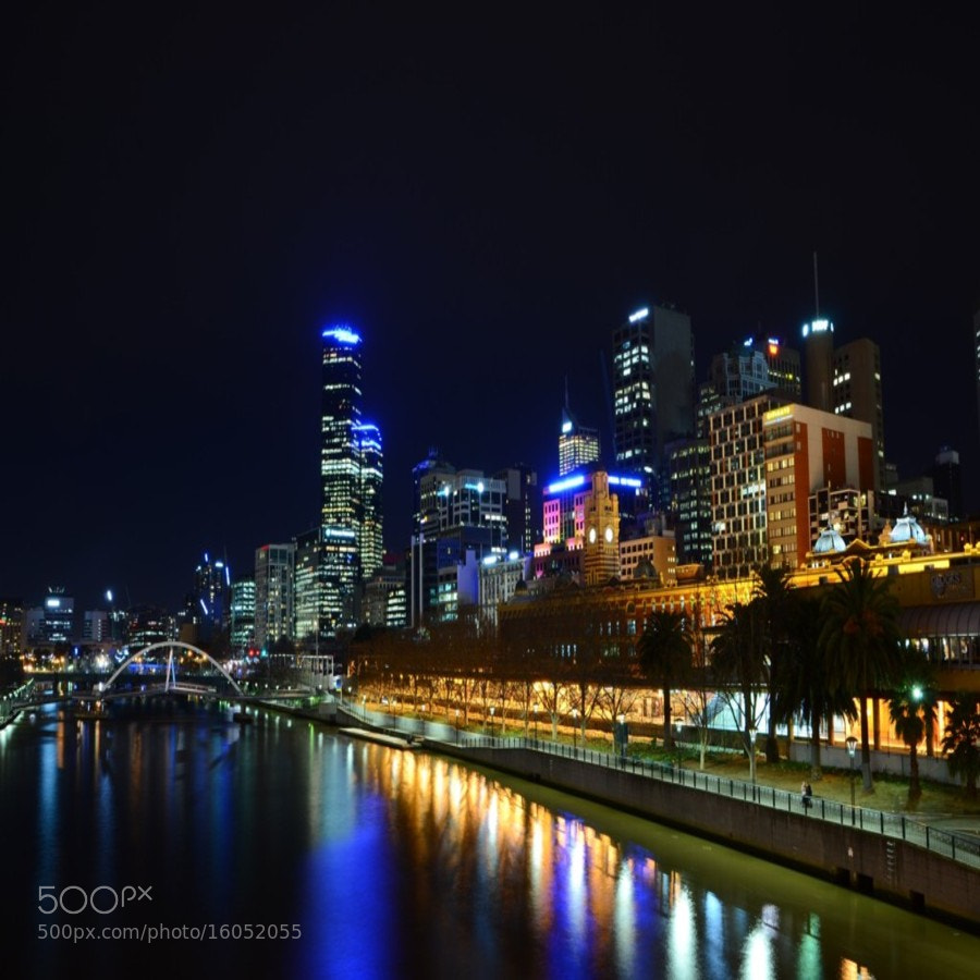Photograph Flinders Street by Elizabeth Atkinson on 500px