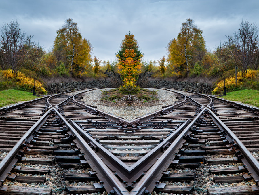 I ❤️  Tracks by Rob Hanson on 500px.com