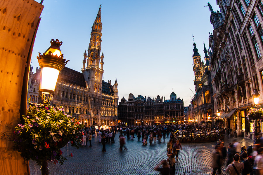 Photograph Grand Place by Jose Agudo on 500px