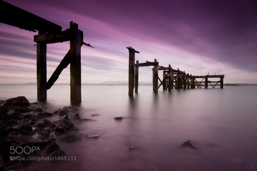 Photograph Aberdour Pier by Zain Kapasi on 500px