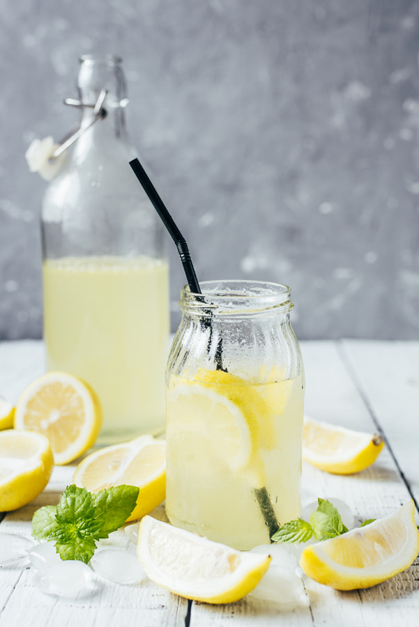 Homemade lemonade by Alena Gusakova on 500px.com