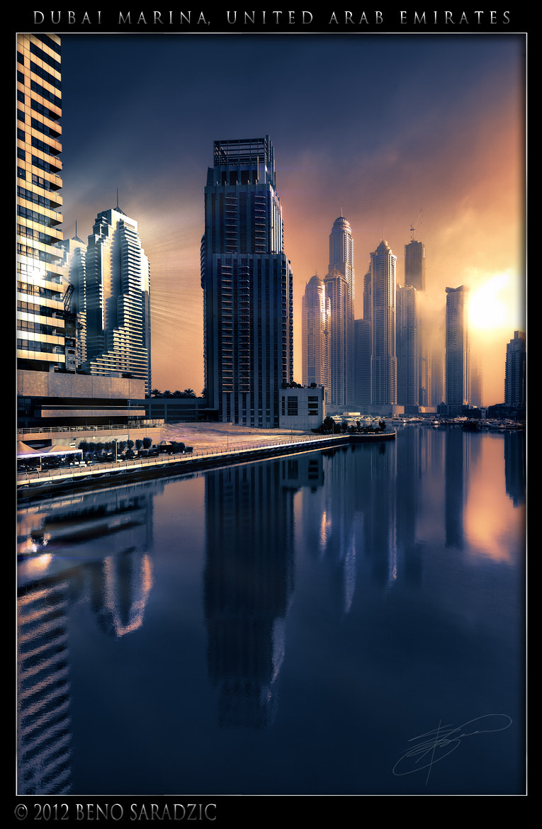Photograph Dubai Marina Fantasy by Beno Saradzic on 500px
