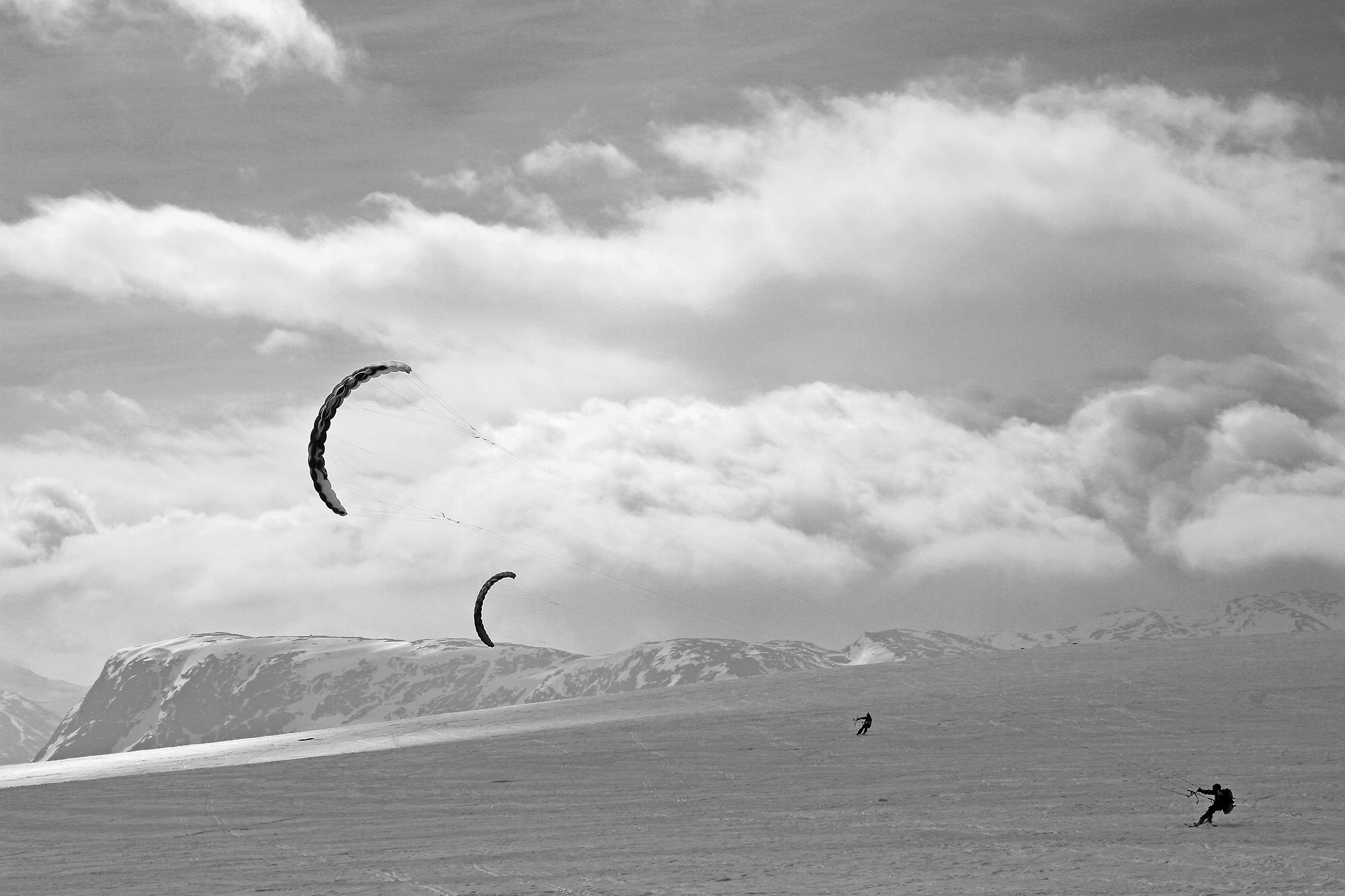 Photograph Kiting in Norway by Snorre Veggan on 500px