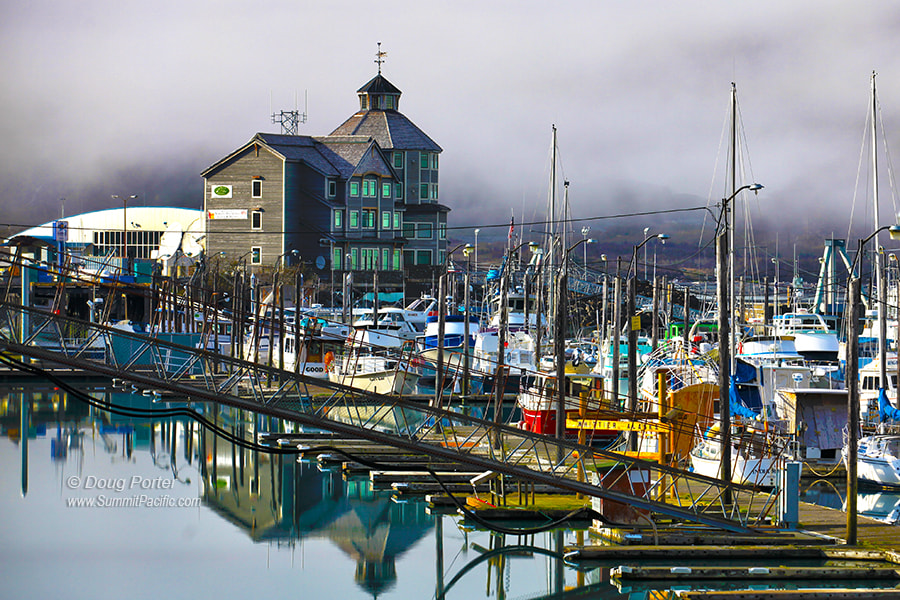 Photograph Whittier Harbor, Alaska by Doug Porter on 500px