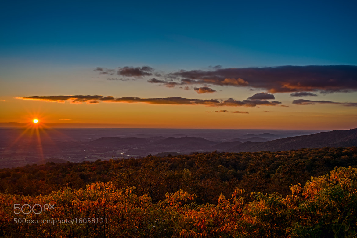 Photograph Sunrise from the Shenandoah by Monico Havier on 500px