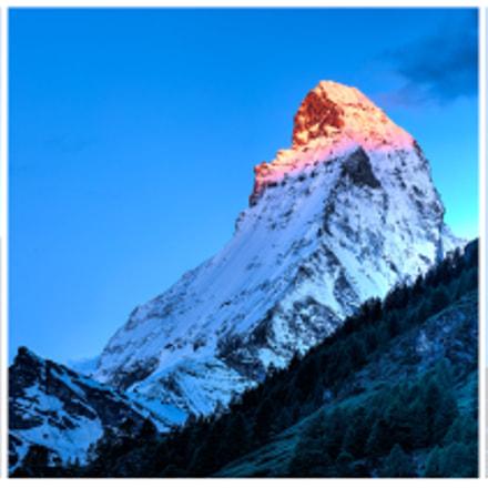 Matterhorn Sunrise Triptych