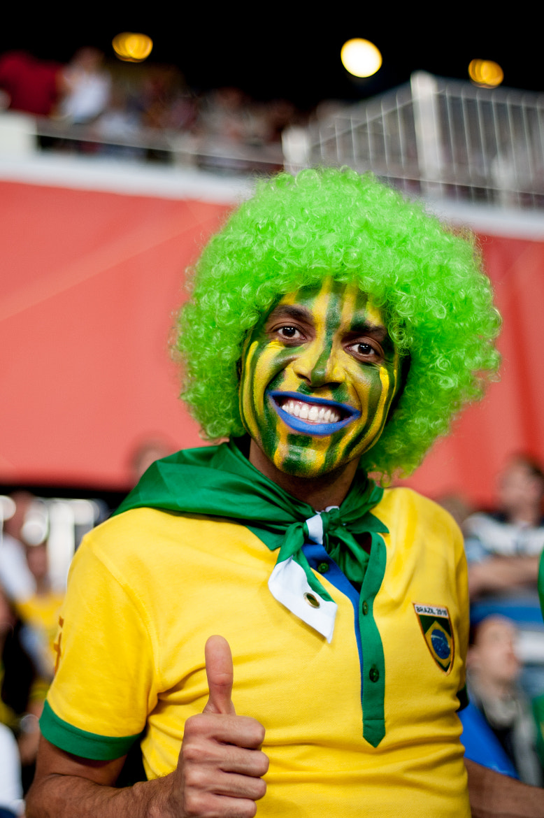 Photograph Brazilian Supporter by Hubert Mical on 500px