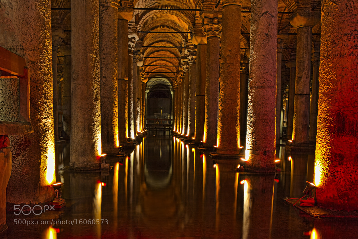 Photograph Basilica Cistern in Istanbul by Olaf Aune on 500px