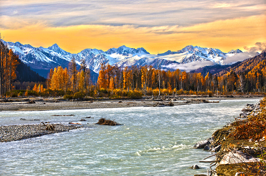 Photograph Chilkat River Alaska by Doug Porter on 500px