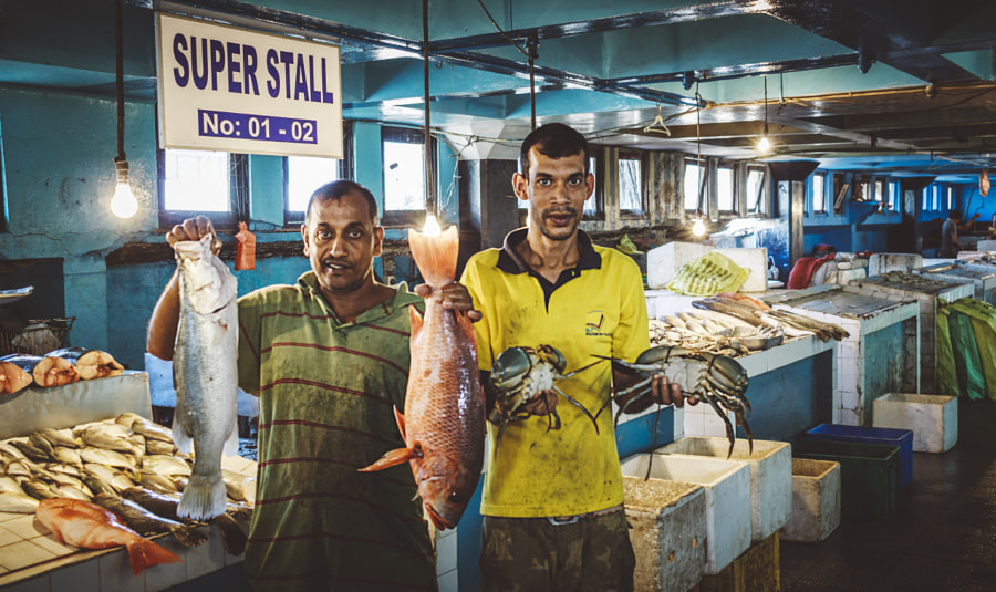 Fish Mongers, Colpetty Market, Sri Lanka by Son of the Morning Light on 500px.com