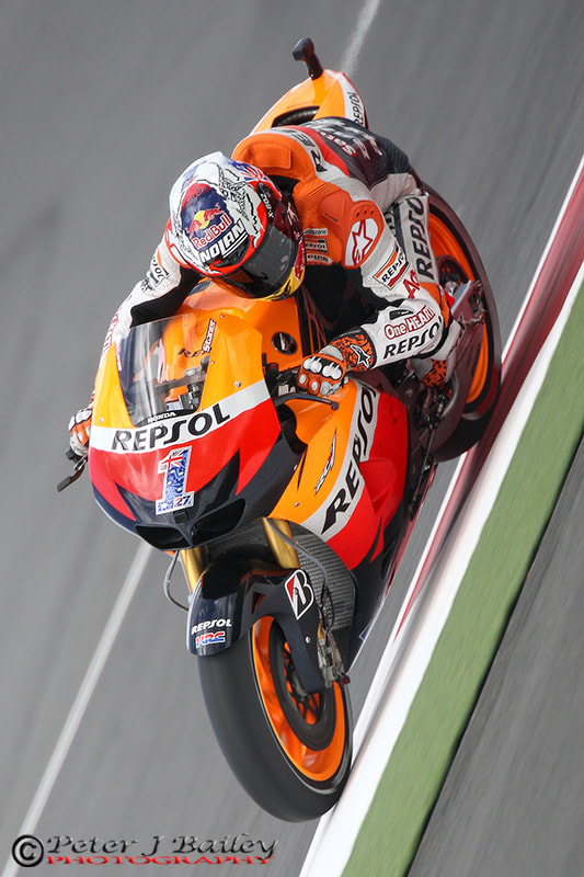 Photograph Casey Stoner #1 Repsol Honda RC213V Silverstone MotoGP 2012 by Peter J Bailey on 500px