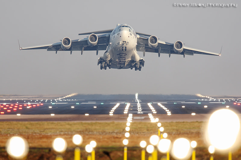 Photograph Qatar - Air Force Boeing C-17A Globemaster III A7-MAB (cn F-209) by Peter J Bailey on 500px