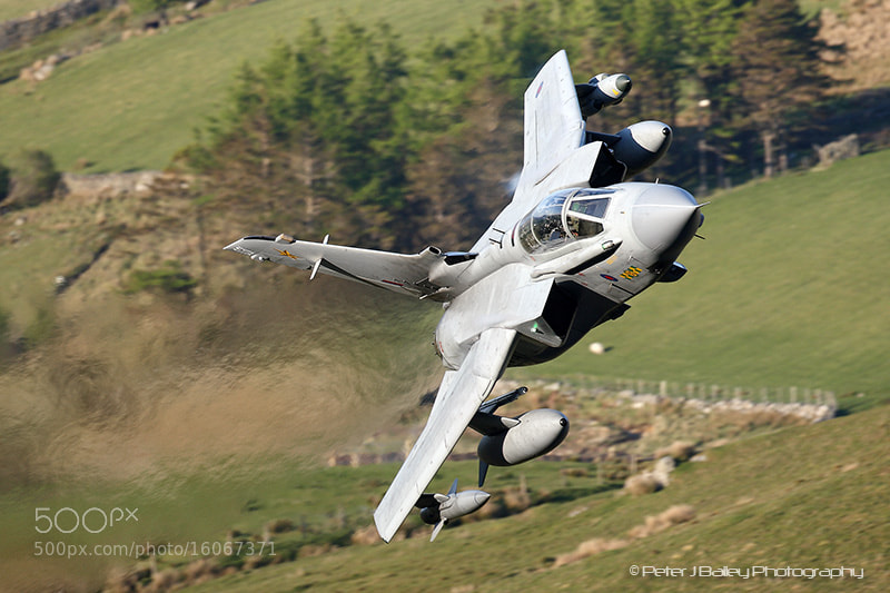 Photograph RAF UK - Air Force Panavia Tornado GR4 ZA472 / 031 Machynlleth L by Peter J Bailey on 500px