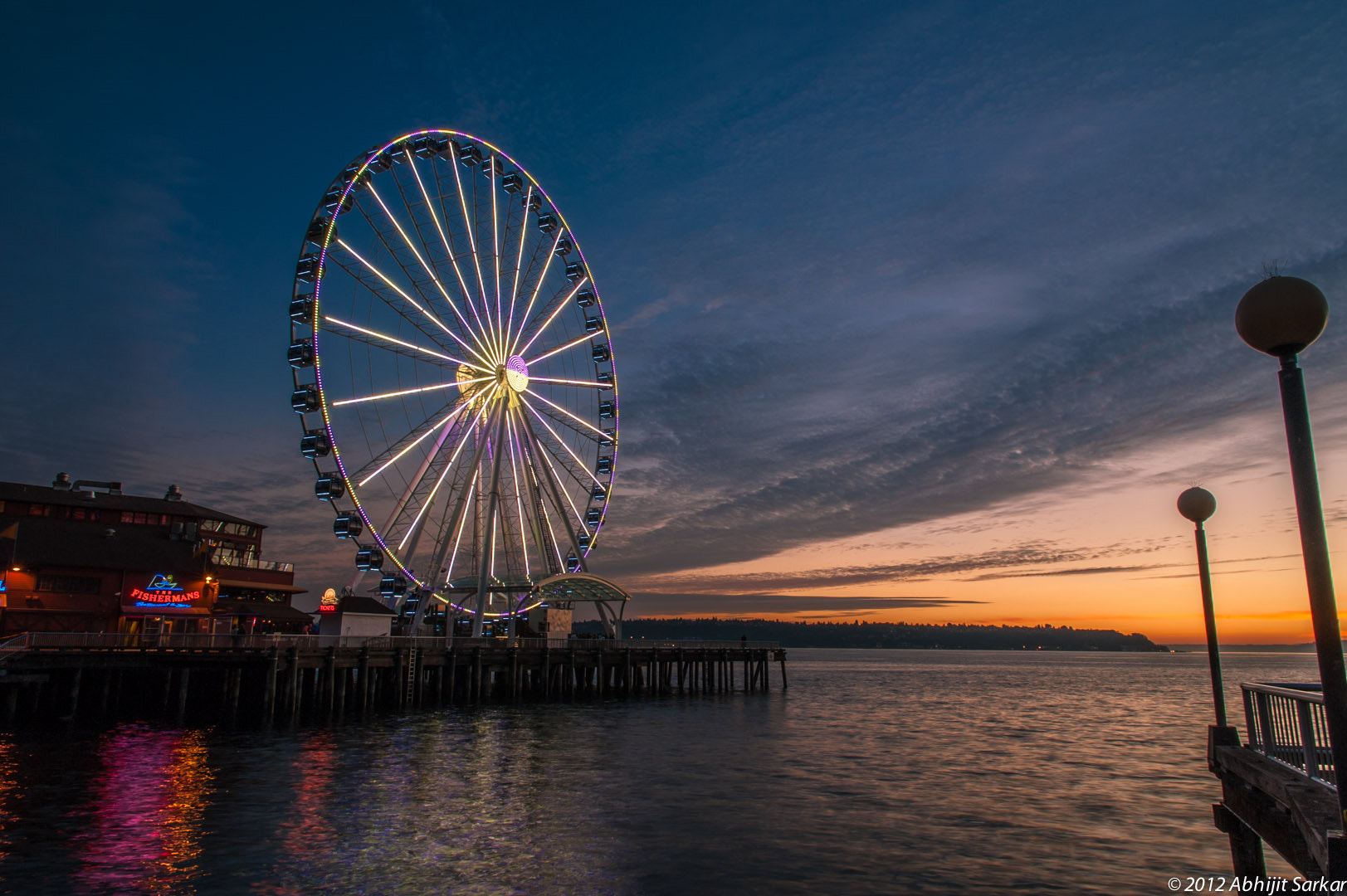 Photograph Seattle Waterfront by Abhijit Sarkar on 500px