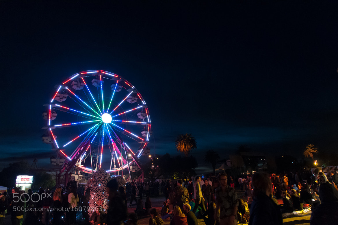 Photograph Treasure Island Music Festival At Night by Frozen Canuck on 500px