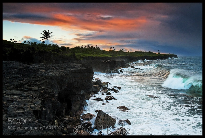 Photograph Rugged Surf Sunrise by Cj Kale on 500px