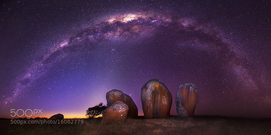 A Henge Beneath by Dylan Toh  & Marianne Lim on 500px.com