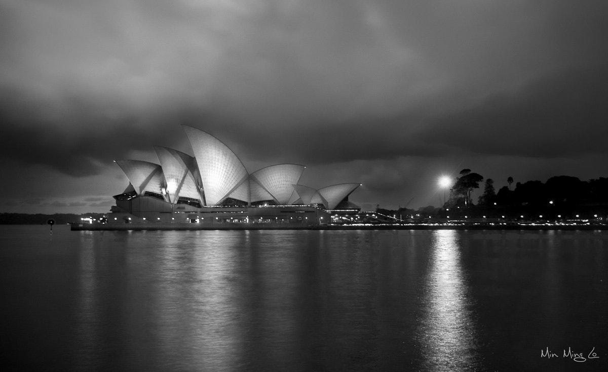 Photograph Opera House B&W by Min Ming Lo on 500px