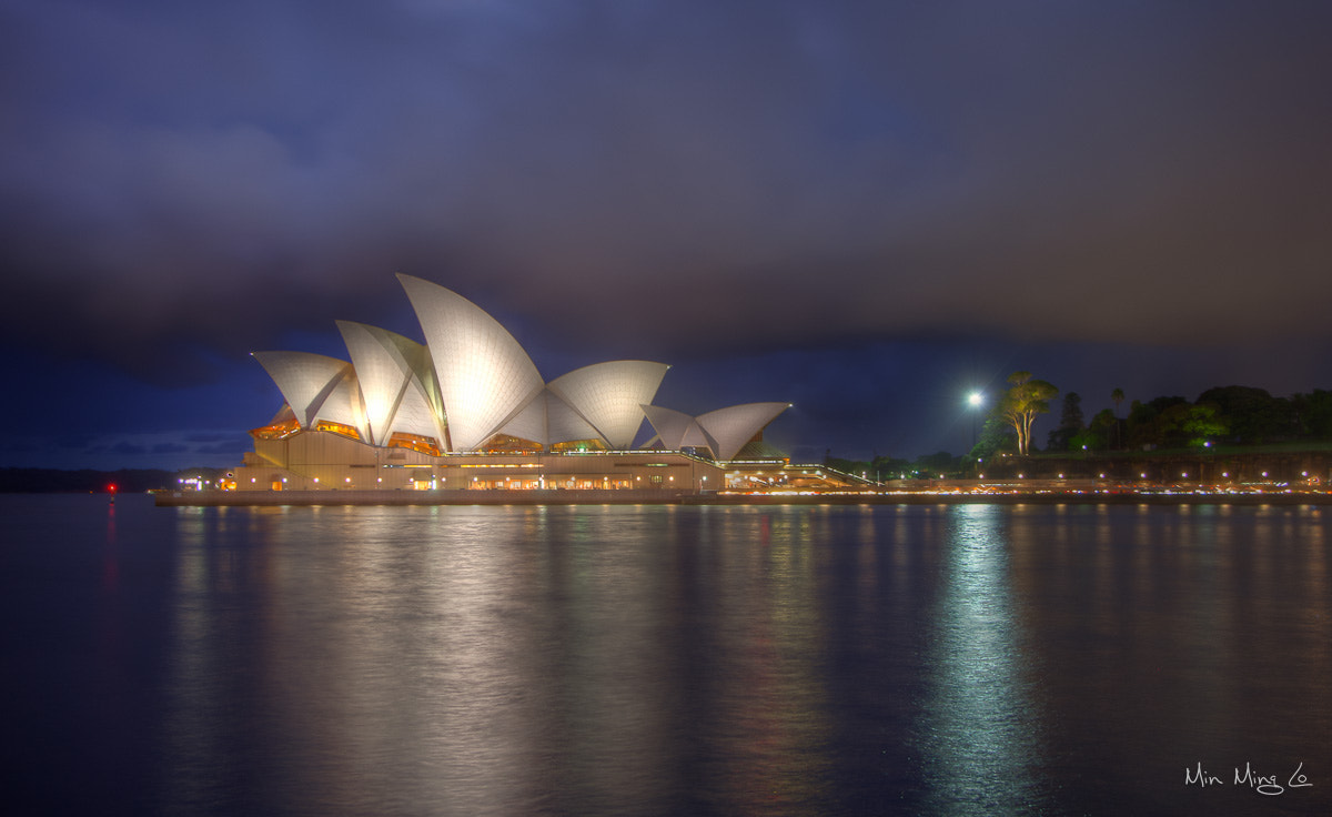 Photograph Opera House Night by Min Ming Lo on 500px